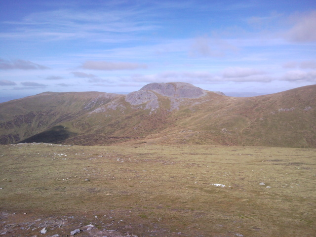 Carn Mearg from Meall na Aighean