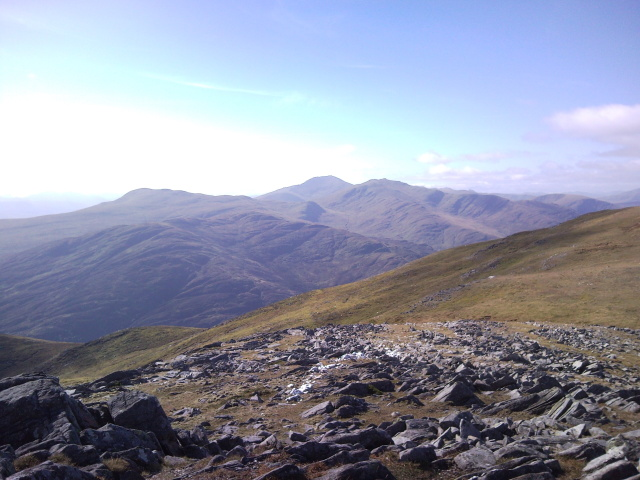 Lawers group from Meall na Aighean