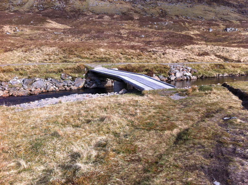Bridge near bothy