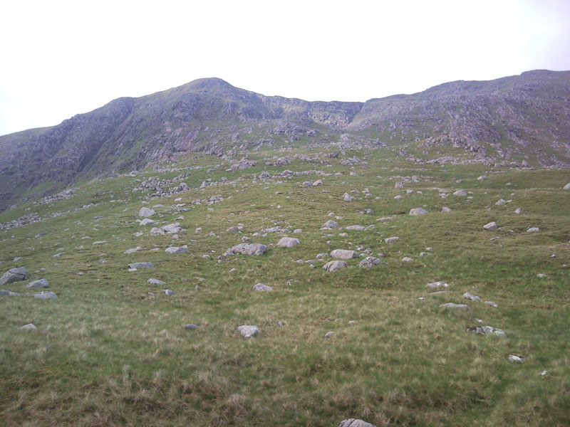 22 The ascent from the beallach to Sron an Isean