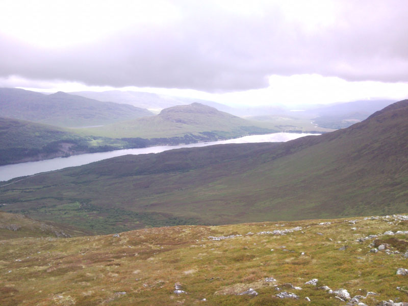 Looking acroos Loch Laggan At Binnein Shuas from 750m