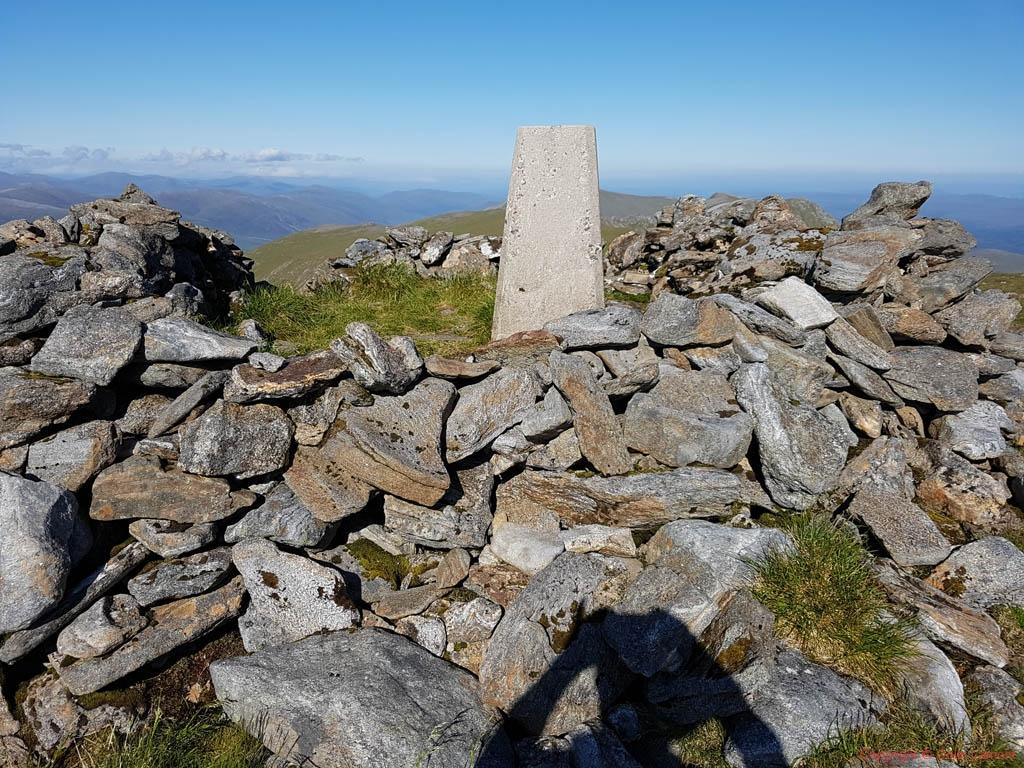 56 Carn Eige summit