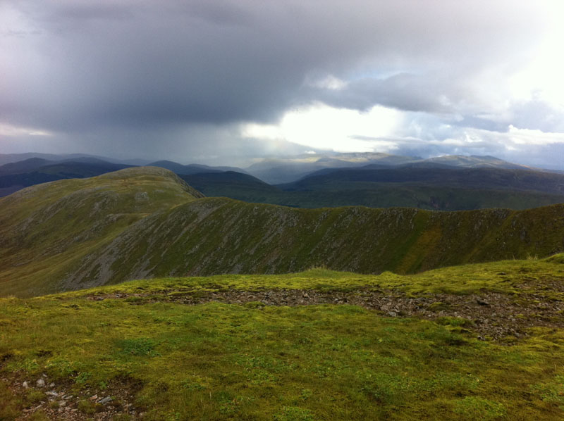 View 1 from Sron Choire Ghairbh